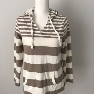 Sonoma Rugby Striped Hoodie